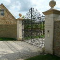 Cotswold Stone Gate Piers