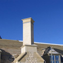 Cotswold Stone Chimney